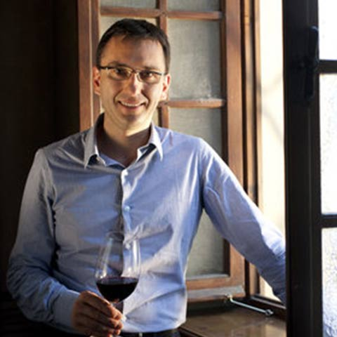 Winemaker Christian Scrinzi